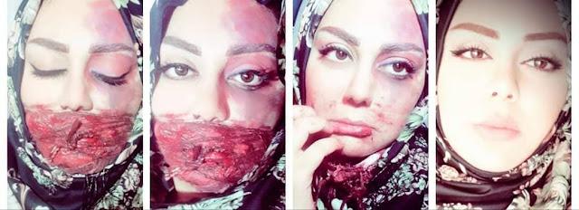 """""""منى وليد صوفي """" معجزة في فن الرسم والخدع متجسدة بهيئة إنسان"""