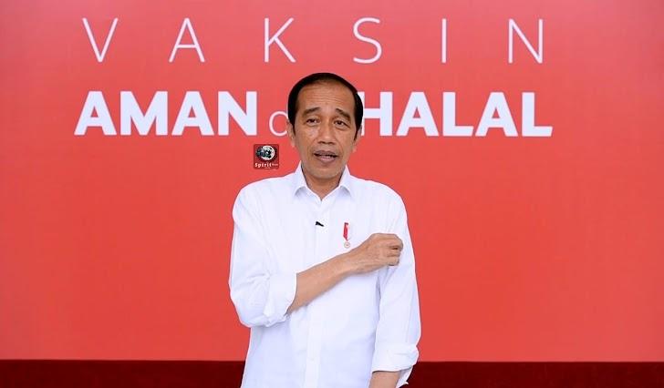 Inilah Kesan Presiden Joko Widodo Setelah Divaksin Cavid-19