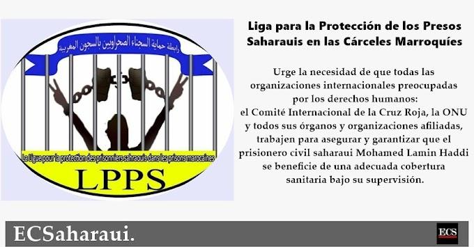 LPPS llama a las organizaciones humanitarias para salvar la vida del periodista saharaui encarcelado, Mohamed Lamin Haddi.
