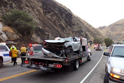 kern county highway 178 vehicle accident river canyon fire
