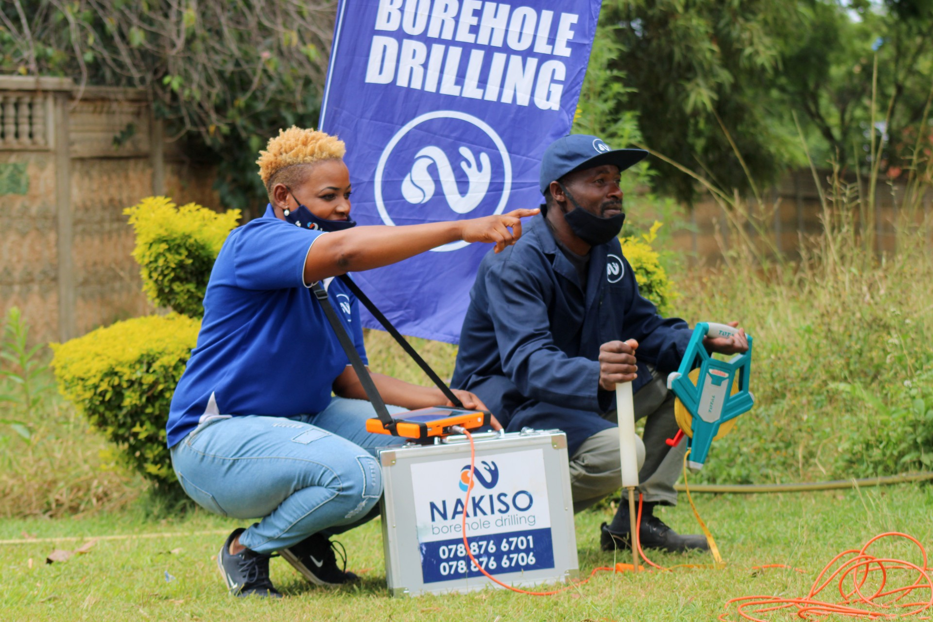 Water Siting Services with Nakiso Borehole Drilling!