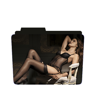 Preview of Sexy black, Sleeping photoshoot pose.
