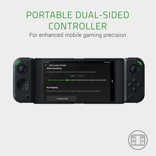 Razer Junglecat Dual-Sided Mobile Game Controller