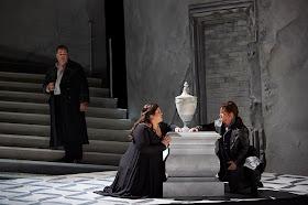 Bruce Sledge, Leah Crocetto, Elizabeth DeShong in Maometto II, Canadian Opera Company 2016, photo: Michael Cooper