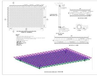 gian%2Bkhong%2Bgian%2B3d giàn mái đón inox 304 3D mái vòm thép mạ kẽm, giàn mái không gian inox 304