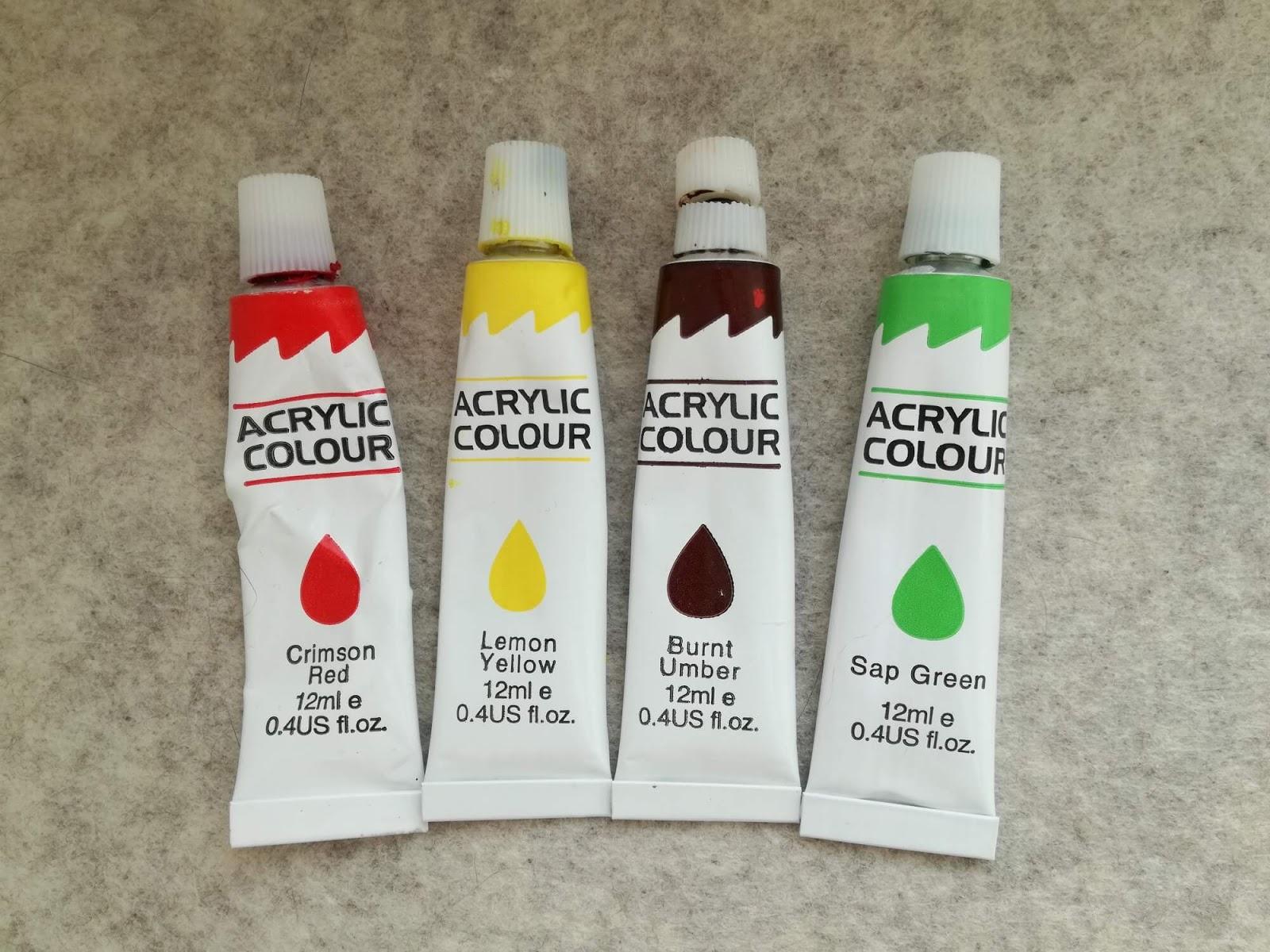 cztery farbki
