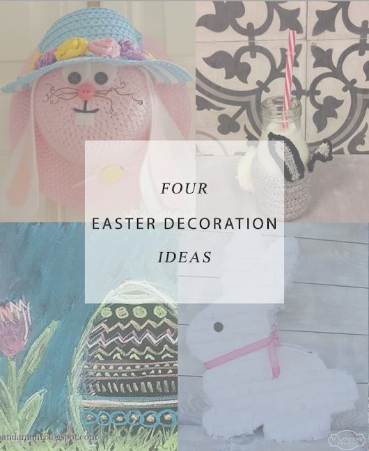 Architecture of a Mom: Easter Decor Ideas and a Little Bird Told Me Link Party