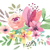 Water Colour Flower PNG 1