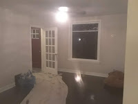 Painted walls, ceiling, and trim
