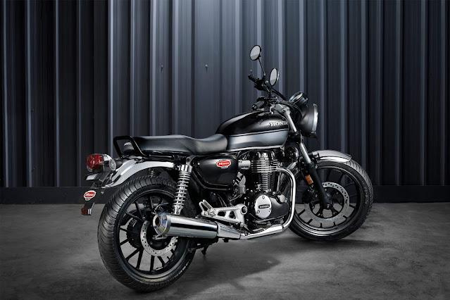 Honda Highness (Hness) CB350 Design & Specification