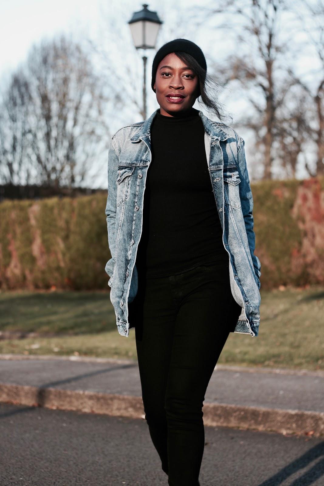 comment-porter-la-veste-en-jeans-en-hiver