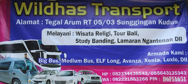 Travel Kudus Jogja