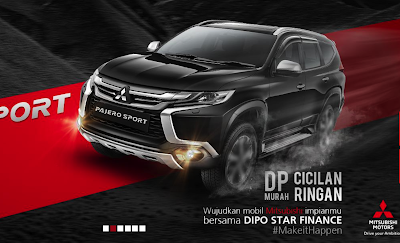 Kredit Mobil Mitsubishi di Dipo Star Finance