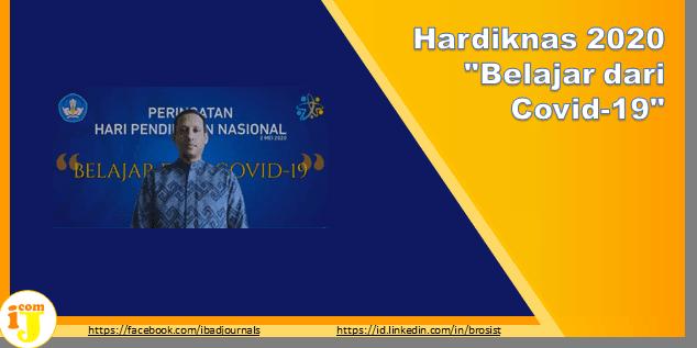 """Hardiknas 2020 """"Belajar dari Covid-19"""""""