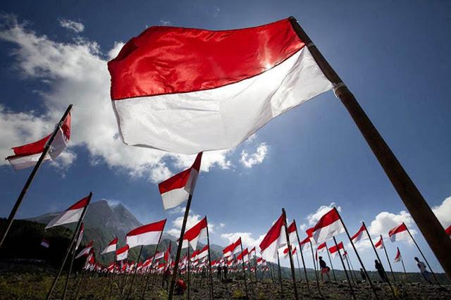 gambar bendera indonesia paling keren