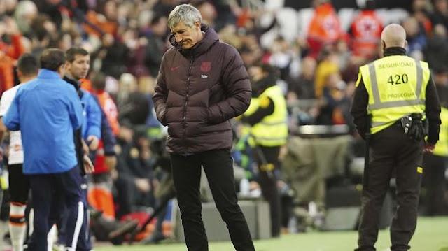 Quique Setien Bsai di Pecat Jika Barcelona Gagal Mengalahkan Atletico