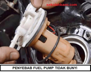 penyebab fuel pump tidak bunyi