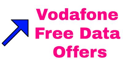 Vodafone Free Data Offers