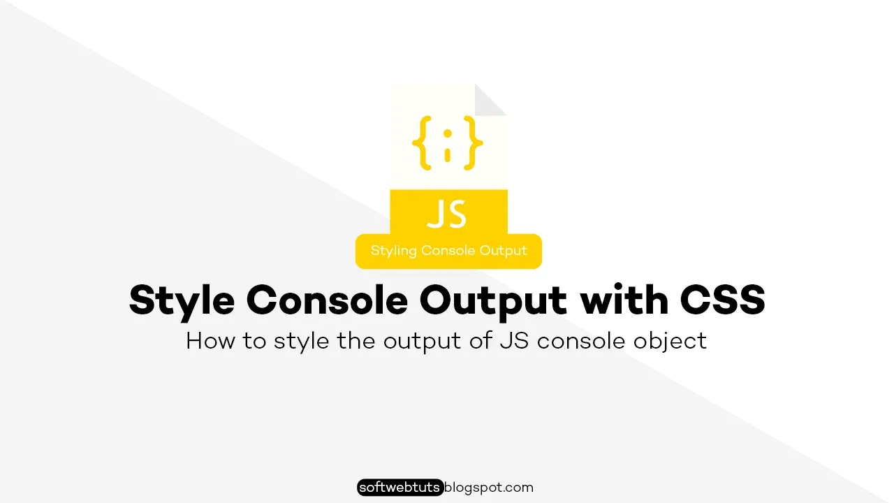 Style Console Output with CSS