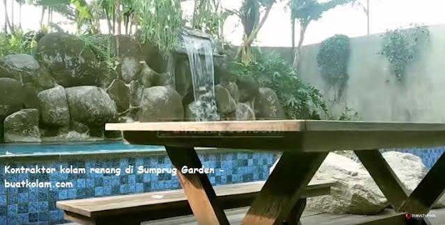 kontraktor kolam renang di simprug garden