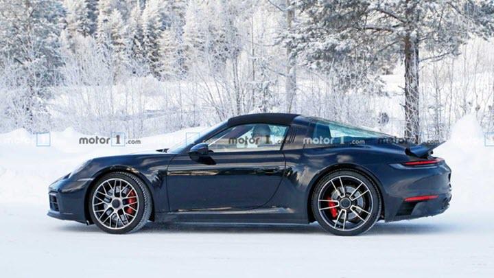 Porsche 911 Targa 2020 lộ ảnh trước thời điểm ra mắt