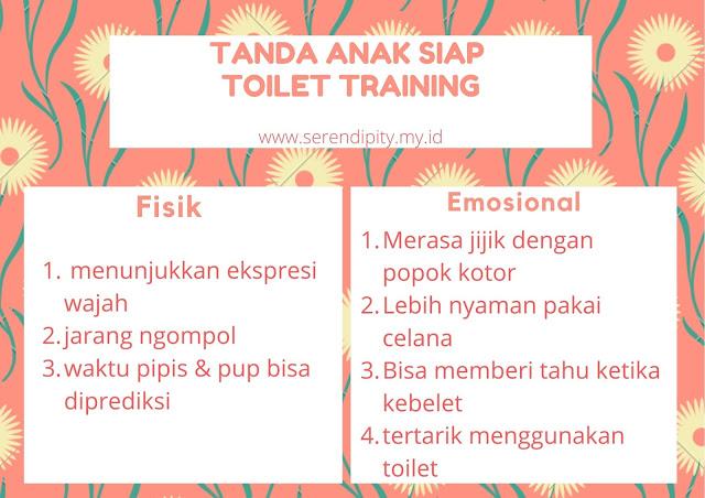 tanda anak siap toilet training