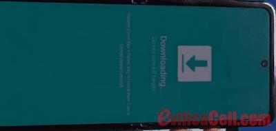 Download Mode Samsung Z Flip SM-F700W