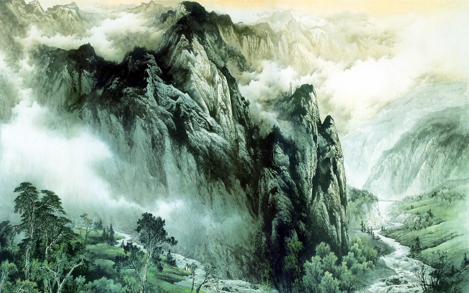 Wallpapers Dekstop 4 U: Asian Art Wallpaper