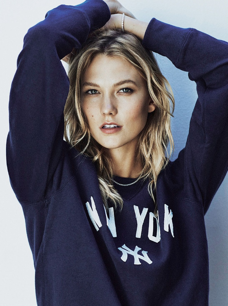 Karlie Kloss wears Fall fashion for Sunday Times Style September 2015