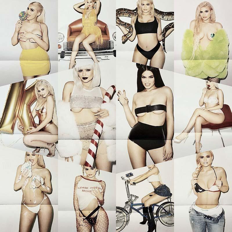 Kylie Jenner - 2017 Calendar by Terry Richardson