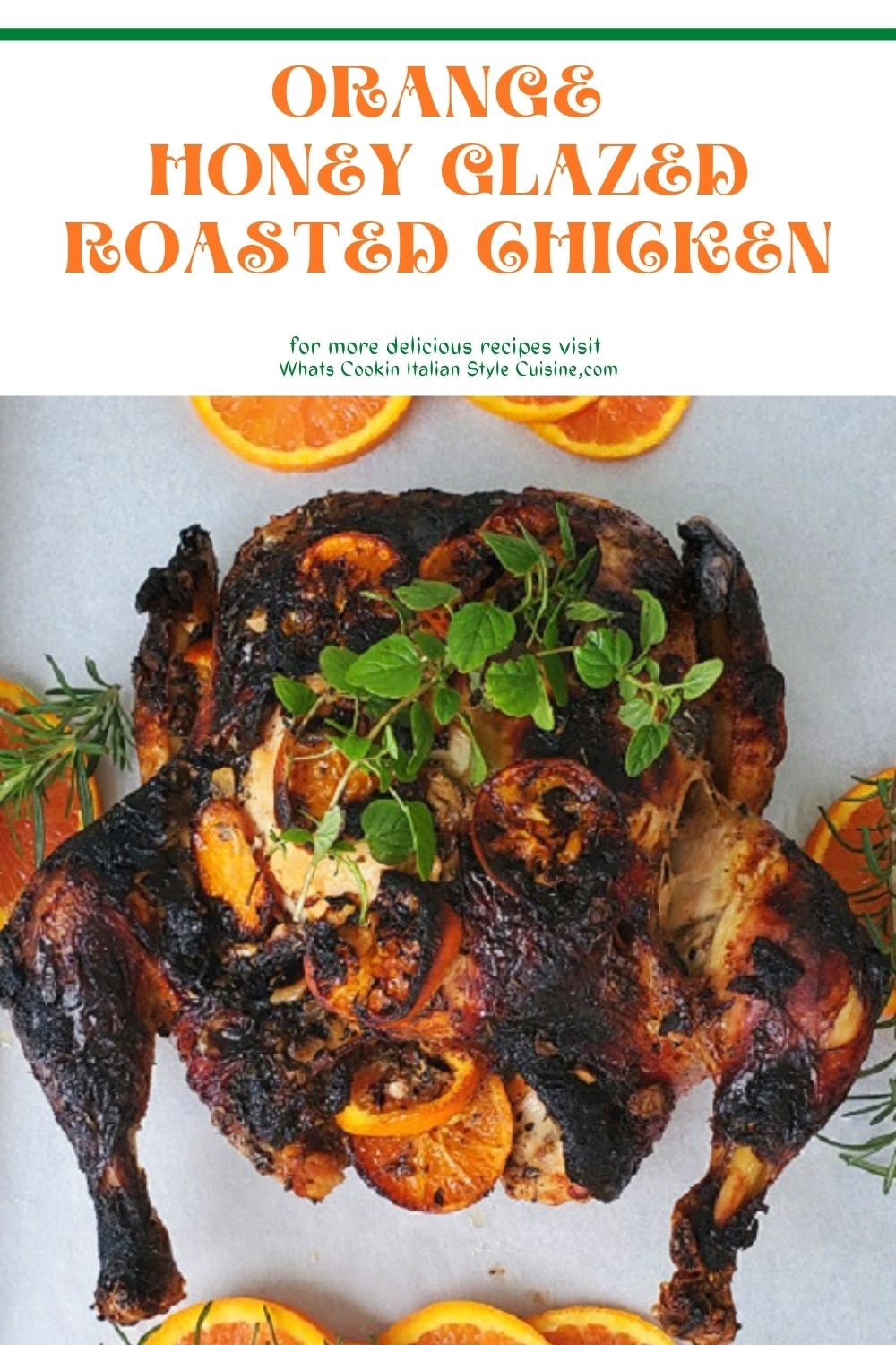 this is a whole roasting chicken with burnt edges and recipes for it pin for later