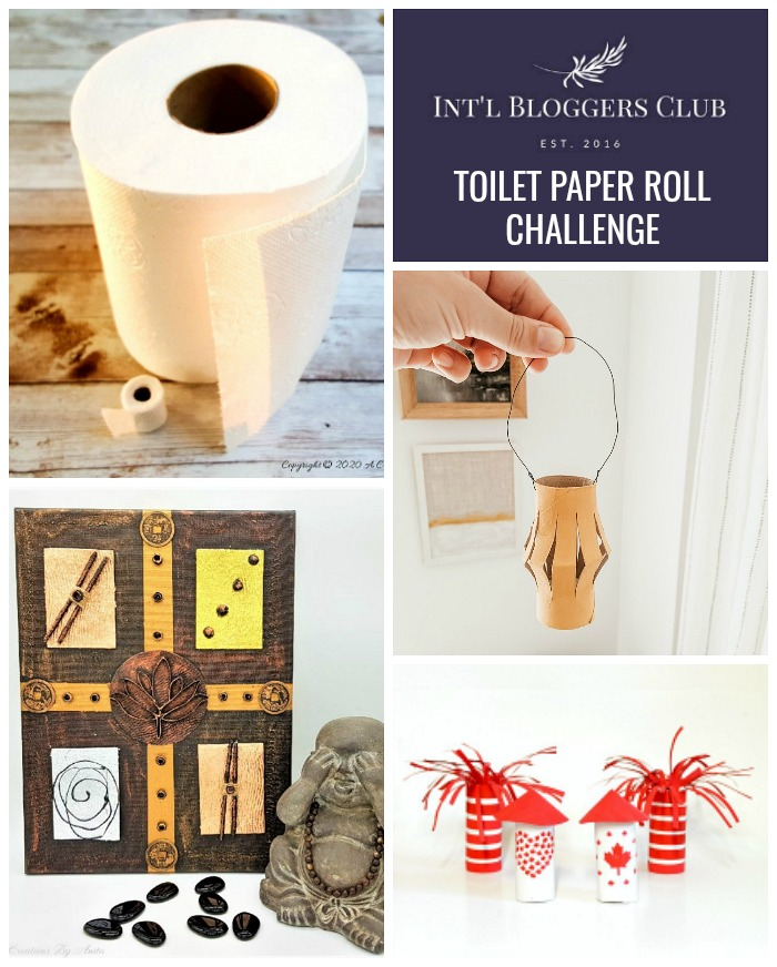 Int'l Bloggers Club Toilet Paper Roll Challenge