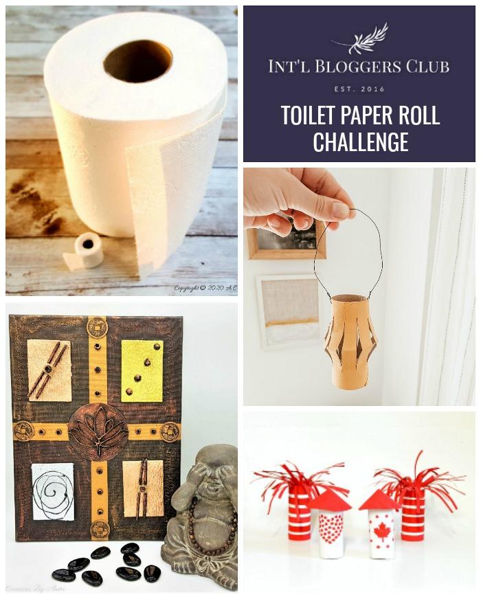 Int'l Bloggers Club June 2020 Toilet Paper Roll Challenge - Interior Frugalista