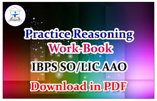 """Important Practice Reasoning Questions """"Work Book"""" for SO/AAO"""