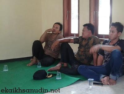 Rapat Pembentukan Pengurus PB. Perkasa Desa Kampungsawah