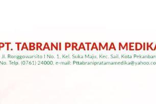 Lowongan PT. Tabrani Pratama Medika Pekanbaru November 2018