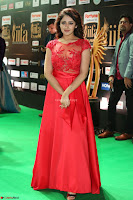 Saisha looks Glamorous Super cute in Transparent Red Gown at IIFA Utsavam Awards 009.JPG