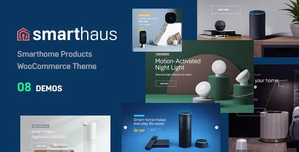 Best Smarthome Products WooCommerce Theme