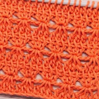 Punto Sol en Tunecino a Crochet