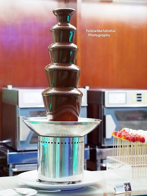 Chocolate Fountain & Fruit Skewer