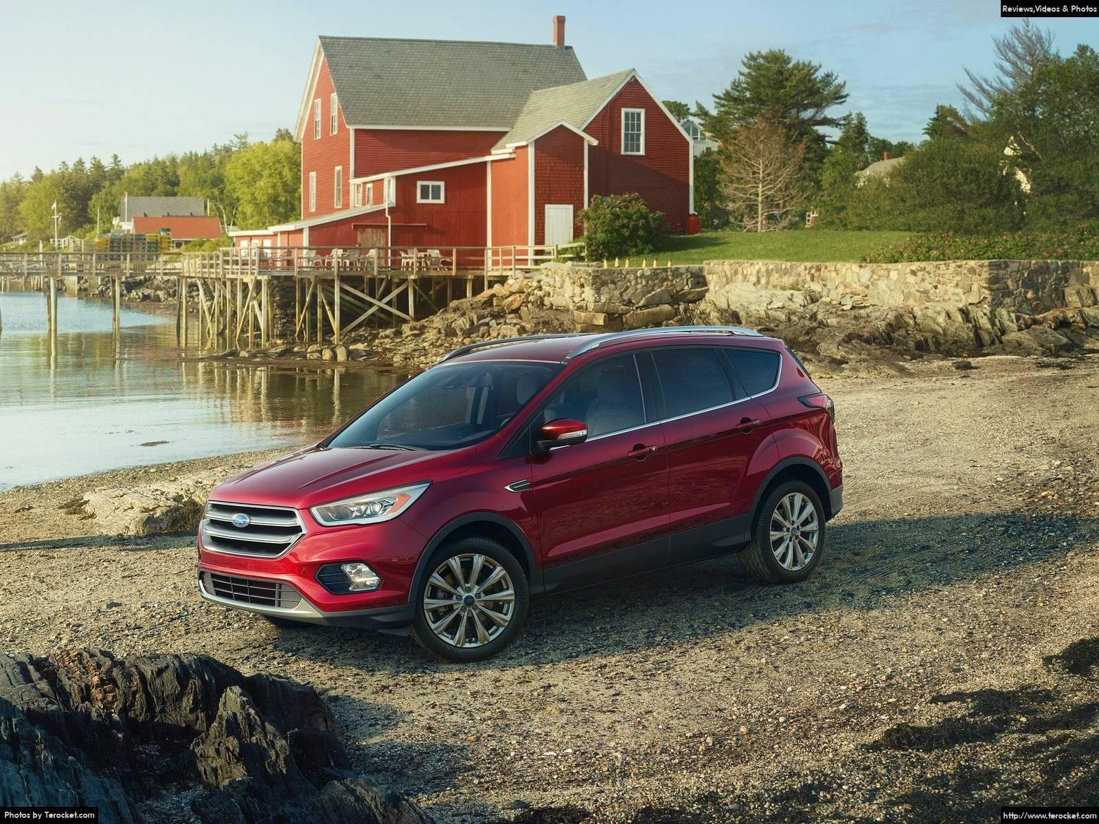 Hình ảnh xe ô tô Ford Escape 2017 & nội ngoại thất