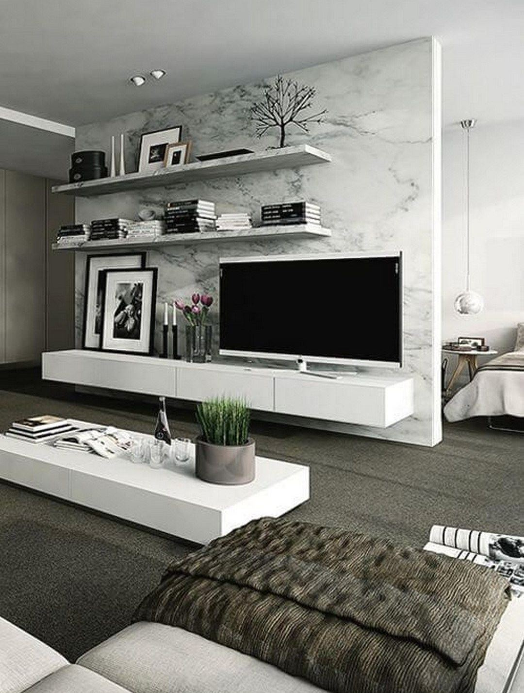TV Wall Decor Idea