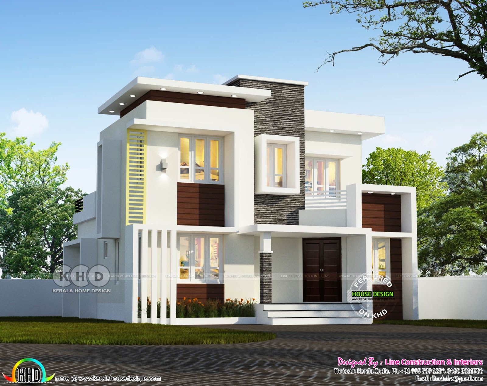 April 2018 kerala home design and floor plans for Best home plans in kerala