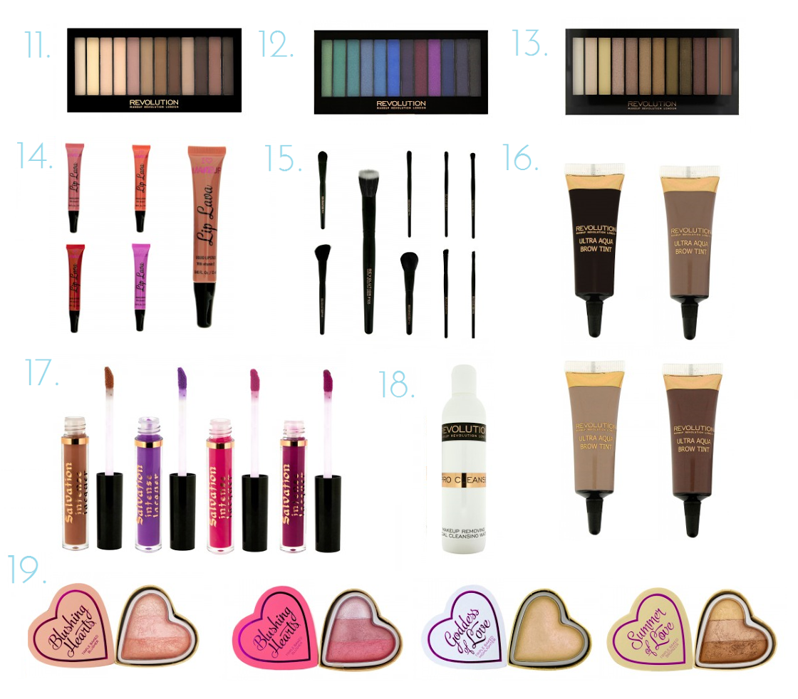 Beauty | Makeup Revolution Wishlist