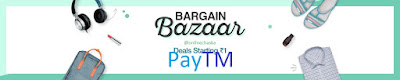 PayTM bargain Bazaar-products starting at just ₹1 and