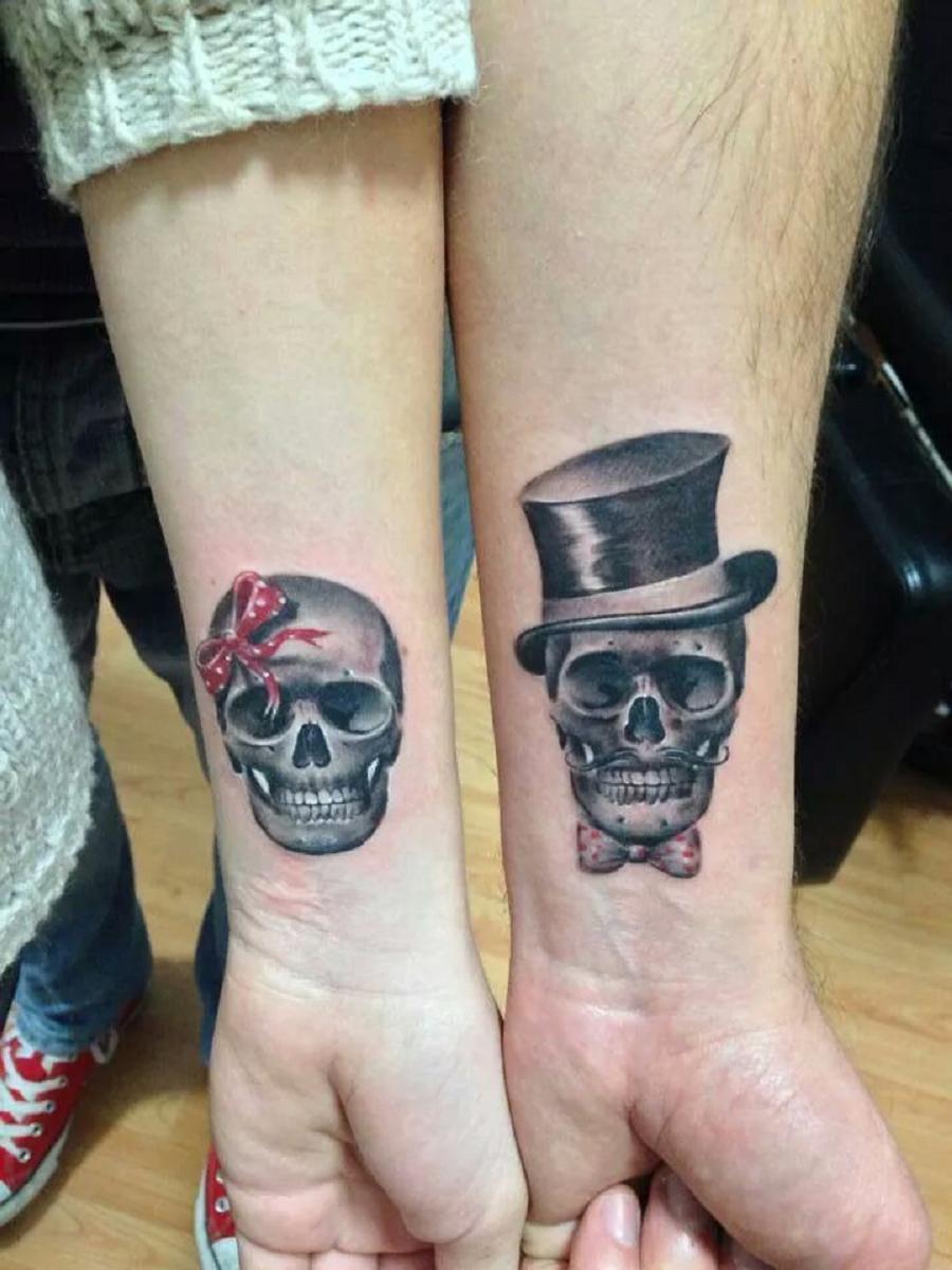 Fabulous carpe diem: koppel tatoeages #NF67