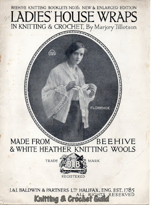 1920s vintage knitting & crochet pattern