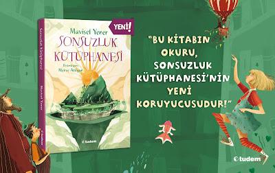 Mavisel Yener'den ''Sonsuzluk Kütüphanesi'