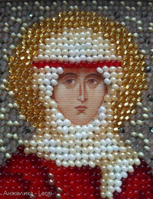 Икона Ангелина от Чаривны Мить