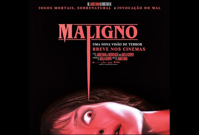"""CINEMA: Warner Bros. Pictures divulga trailer e poster do longa """"Maligno"""" (COM VÍDEO)"""